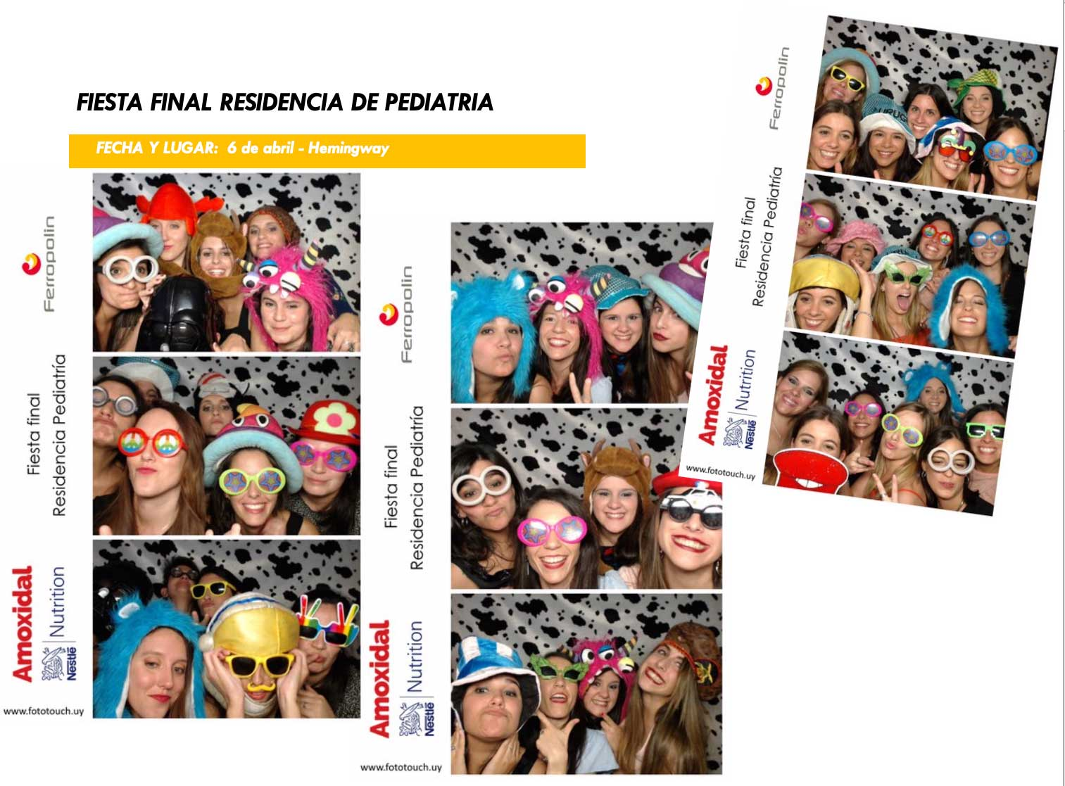 Fiesta final residencia de pediatría