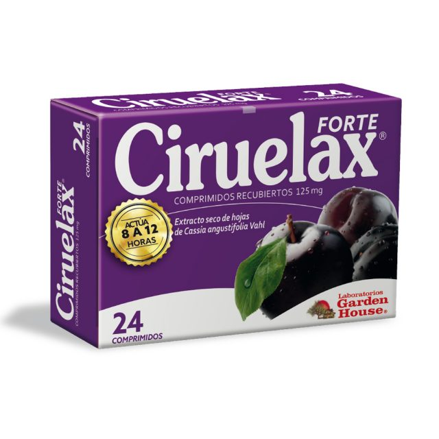 CIRUELAX Forte 24 comprimidos x Pack x 6